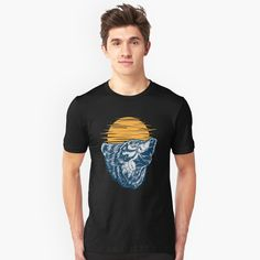 'Keeper of the Bees Funny Bee Apparel' T-Shirt by CustUmmMerch Base Jump, Jumper, Vintage T-shirts, Cat Dad, Trends, Swim Trunks, Tshirt Colors, Female Models, Chiffon Tops