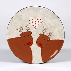 Get the look of felted wool with this fun holiday design from Mayco
