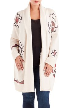 NAKED CASHMERE Maxwell Duster Sweater Size-inclusive designer luxury Plus-size fashion