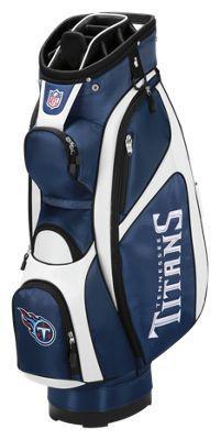 Wilson NFL Team Cart Golf Bag - Tennessee Titans