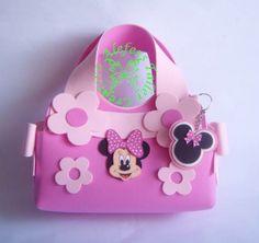 Handbag (Bolsito de Minnie) en foami.
