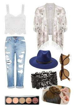 """""""#bitches n marijuana!"""" by adelany ❤ liked on Polyvore featuring Miss Selfridge, Genetic Denim, Forever 21, Ray-Ban and interhermvlora"""