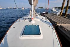 Boat from East Coast Yacht Sales Fresh Water Tank, Yacht Design, Engine Types, Portsmouth, Plexus Products, East Coast, Sailing, Cruise, Deck