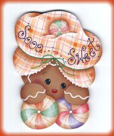 Winter Sweets Gingerbread Ornament EPattern par GingerbreadCuties