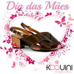 Olha que charme de saltinho! Você vai amar  #koquini #sapatilhas #euquero #malusupercomfort Compre Online: http://koqu.in/1RRipLc