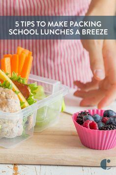 School lunch ideas f