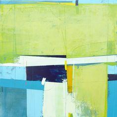 Andrew Bird - Yellow Field, 2016 - Porthminster Gallery