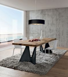 Modern olasz asztal Claudio - www.montegrappamoblili.hu