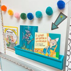 I am so excited for my new additions to my classroom!🤩These Lakeshore magnetic display shelves and magnetic pockets!😍 #ad I set them up behind me for virtual learning so I can have easy access to the books we will be reading daily and any worksheets or flashcards I'd be using in my live sessions!! Plus it makes it look so pretty on my screen!❤️ @fiestaintheclass The New School, New School Year, Norman, Bond, Classroom Organization, Classroom Ideas, Paper Pocket, Lakeshore Learning, Plastic Shelves