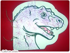 Mini libro sobre los dinosaurios