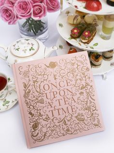 Once Upon a Tea Time Book - Not only do I NEED this... but THIS is THE EXACT perfect representation of the wedding theme~!