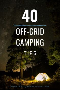 Off-grid camping is a popular way to get out of the city and back into nature for an escape. It's a simple way to explore and with a few preparations and a good set up, you can nail it and enjoy your holiday. #freecamping #offgrid #camping #tips #hacks