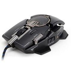 ZALMAN GM4 LASER GAMING MOUSE. Avago 9800 Laser Sensor - Omron Switches - Upto 8200 DPI, 12,000 fps - Adjustable Size and Weight - Programmable Buttons - Software for Adjusting Specs and Programming B