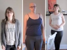 A year with breast cancer in one minute: Woman films fight against disease