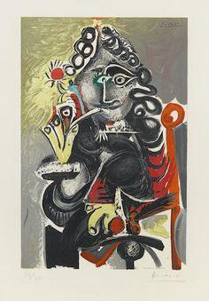 After Pablo Picasso (1881-1973); Le Cavalier;
