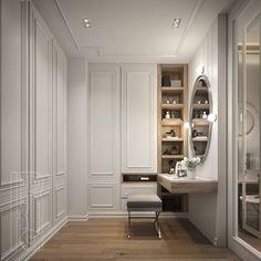 Wardrobe Room, Wardrobe Design Bedroom, Home Room Design, Home Interior Design, Home Decor Hooks, Dressing Room Design, Bedroom Cabinets, Classic Interior, Closet Designs