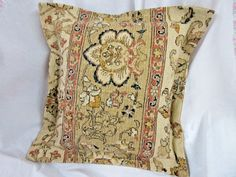 """Ralph Lauren NORTHERN CAPE Pillow - 16"""" x 16"""" - Tapestry Weight Fabric #RalphLaurenTapestryfabric #DECORATIVE Pillow Shams, Bed Pillows, Ebay Shopping, Tapestry Fabric, Designer Pillow, Vintage Sewing Patterns, Gingham, Bohemian Rug, Cape"""