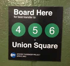 Spotted: Outlaw Subway Signs To Ease Riders Through The Labyrinth - WNYC