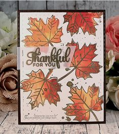 Snappy Scraps: Thankful for you with CutCardStock.com