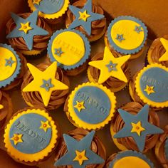 Cupcakes for National Honor Society induction #NHS