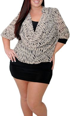 Fantastic (Plus)-Great Glam is the web's best sexy plus size online store clothing website for 1X 2X and 3X clothes for women and juniors.