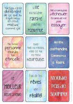 mes stickers: inspiration et motivation   Césame et ses états d'âme