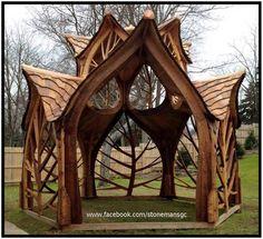 Spectacular gazebo by Matt Parker of Creative Carpentry
