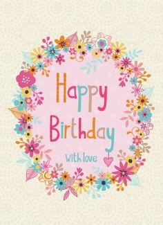 Jane Ryder-gray - Birthday With Love