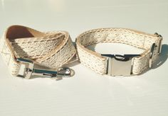 Or perhaps this lace collar and leash set. | 22 Adorable Dog Collars Every Dog Owner Needs