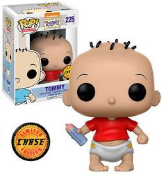 Funko POP! CHASE RARE Nickelodeon Rugrats #225 Tommy (Red Shirt Bottle) New Mint #FunkoPop #Nickelodeon #Collectibles