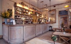 The Orange, a beautiful pub with a child friendly restaurant. Located on Pimlico Road.