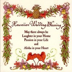 Hawaiian Wedding Blessing 6 Hand Painted Ceramic Tile * Read more  at the image link.