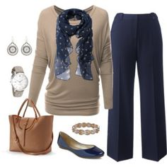 Plus Size Outfit, Fall Work Outfit