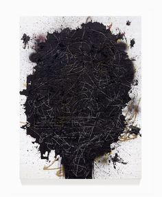 rashid johnson - untitled anxious man, 2014