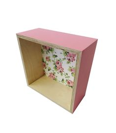 Floral Shadow Box | The Print Tank