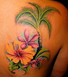 As the summer temperatures rise, the thoughts of land-lovers and beach bums alike turn to crashing waves and tropical escapes. Summer is the perfect time to retreat to the beach and soak up some rays. If you can't schedule a trip out of town, here are some great beach-themed tattoos to tide you over till your next vacation.