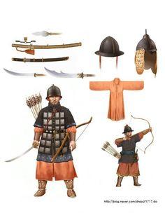 Mid-late 16th century Korean archer