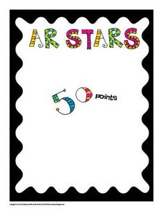 Accelerated Reader Reward Posters Free