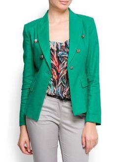 Mango Women's Military Style Jacket $79.99