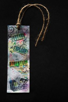 Bookmark Bookmarks, Crafting, Pendant Necklace, Personalized Items, My Favorite Things, Tags, Jewelry, Chrochet, Dots