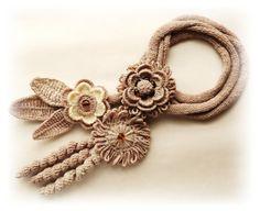 Crochet necklace by CraftsbySigita