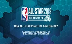 NBA All-Star Practice & Media Day at the Bojangles' Coliseum NBA All Star Weekend Weekend In Atlanta, Weekend Events, Host A Party, All Star, Nba, Stars, Sterne, Star