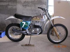 Factory Bultaco built for American Racing Legend Jim Pomeroy