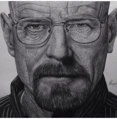 What do you think of the drawing of Walter White? I just had to buy the original Back To Black, Black And White, Bryan Cranston, Arte Sketchbook, Walter White, Lee Jeffries, Breaking Bad, Shades Of Black, Thinking Of You