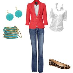 """""""Business Casual"""" by jhousto on Polyvore"""