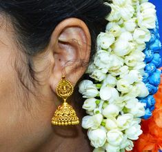Foap.com: 🌹 flower stock photo by sampath.kumar4 Lilly Flower, Golden Earrings, Stock Photos, Flowers, Model, Image, Scale Model, Royal Icing Flowers