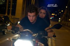 Harry Styles and Lily Collins - Manip by Phenomenixll26