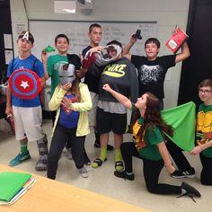 Avengers ASSEMBLE! #3dprinting @raidermiddle #raidernation  by mrslackofi