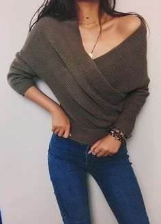If I could find a modest vneck sweater, I would be so happy!