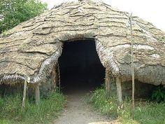 Bronze Age Round House Reconstruction, Flag Fen.
